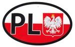 Sticker - White Eagle Shield & PL
