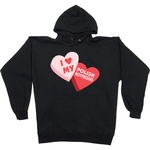 Sweethearts, Polish Boyfriend - Black Hoodie