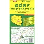 Swietokrzyskie Mountains Map