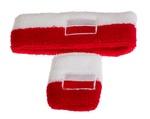 Tennis Wrist & Headband - Poland Flag