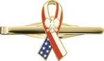 Tie Clip - Polish American Ribbon