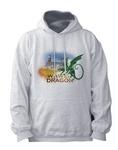 Wawel Dragon & Castle - Adult Sweatshirt Hoodie