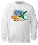 Wawel Dragon & Castle - Adult Crew Neck Sweatshirt