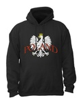 White Eagle POLAND - Adult Sweatshirt Hoodie