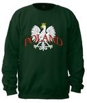 White Eagle POLAND - Adult Crew Neck Sweatshirt