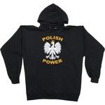 White Eagle Polish Power - Black Hoodie