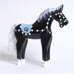 Wooden Black Stallion