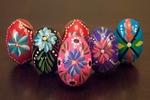 Wooden Eggs - Handpainted