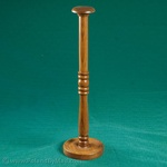 """Wooden Helmet Display Stand, 18"""" Tall"""