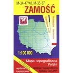 Zamosc Region Map