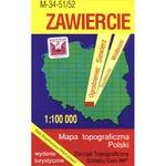 Zawiercie Region Map