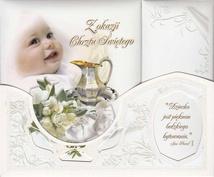 Baby Baptism Remembrance Album - Z okazji Chrztu Sw. # A
