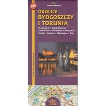 Bydgoszcz, Torun & Surrounding Areas - Tourist Map