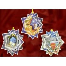 Christmas 3D Card Ornaments - Stars (A) - Set of 3
