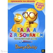 Danny & Daddy Animated Cartoon: Fun with Drawing 8 VCD Set