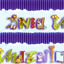Gift Wrapping Paper - Polish Name Day (Imieniny)
