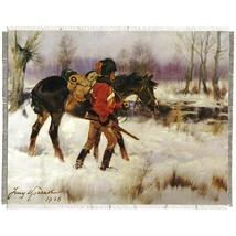 """Silkscreen - J.Kossak: Hussar with the Horse, 10"""" x 8"""""""