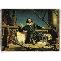 "Silkscreen - J.Matejko: Nicolaus Copernicus, 11.25"" x 8.25"""