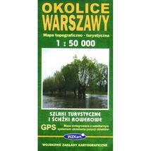 Warszawa Topographic Map
