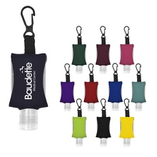 .5 oz. Hand Sanitizer with Printed Case & Clip