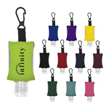 1 oz. Hand Sanitizer with Printed Case & Clip