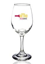 Personalized 10 oz. White Wine Glasses