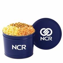 Custom 2 Gallon 3-Way Popcorn Tin