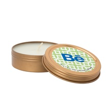 2 oz. Scented Candle in Custom Screw-Top Metal Tins