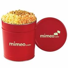 3-1/2 Gallon 3 Way Popcorn Tin