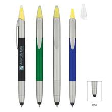3-In-1 Custom Pen/Highlighter/Stylus