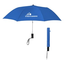 "36"" Arc Super Telescopic Folding Automatic Umbrella"
