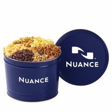 2 Gallon 6-Way Custom Snack Tins