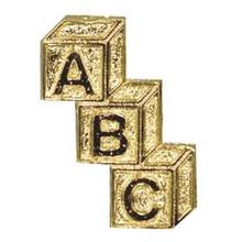 ABC Education Theme Lapel Pins