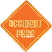 Accident Free Lapel Pin