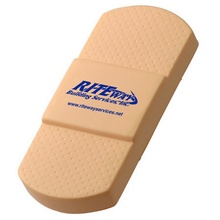 Promotional Adhesive Bandage Stress Balls