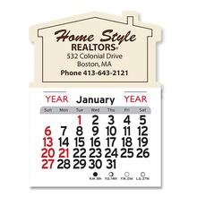 Adhesive Peel-N-Stick House Shape 2022 Calendars