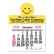 Adhesive Peel-N-Stick Smile Face 2022 Calendars
