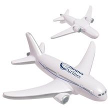 Custom Airliner Stress Ball Relievers