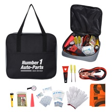 Auto Emergency Kit with Imprinted Case