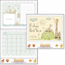Baby's First Year Personalized Calendars