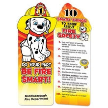 Be Fire Smart Personalized Bookmarks