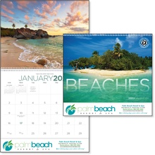 Beaches 2022 Promotional Wall Calendars