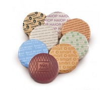 Custom Wrapped Belgian Chocolate Circles