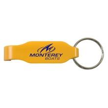 Custom Beverage Opener Key Rings