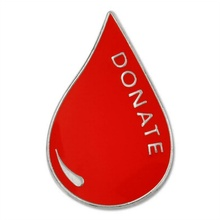 Blood Donor Lapel Pin