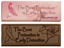 Breast Cancer Awareness Chocolate Bars
