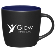 Personalized 12 oz. Cafe Mugs