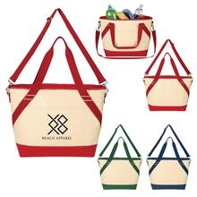 Custom Canvas Cooler Tote Bags