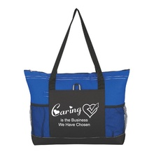 Caring Is The Business We Have Chosen Deluxe Tote Bags