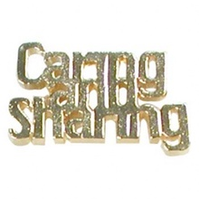 Caring is Sharing Lapel Pins